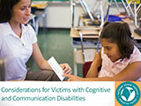 Considerations for Victims with Disabilities Thumbnail Image
