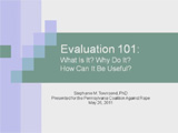 Evaluation 101 thumbnail