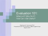 Evaluation 101 thumbnail