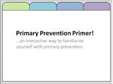 primary prevention primer thumbnail